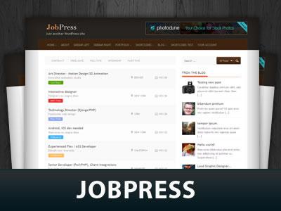 Jobpress WordPress Themes