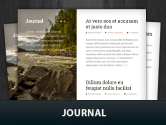 Journal WordPress Themes