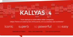 KALLYAS – Responsive Multi-Purpose WordPress Theme – WordPress