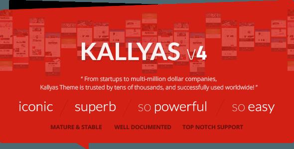 KALLYAS – Responsive Multi-Purpose WordPress Theme – WordPress