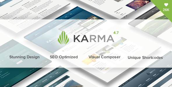 Karma – Responsive WordPress Theme – WordPress | ThemeForest