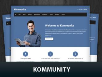 Kommunity WordPress Themes
