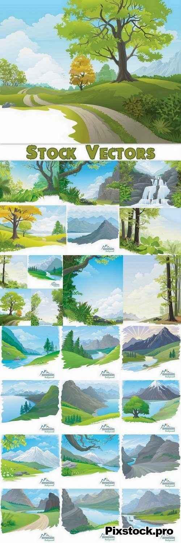 Landscape set #2 – 25 Eps