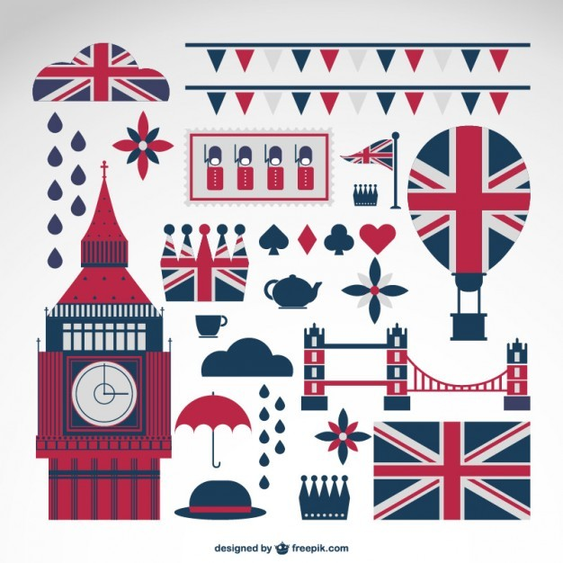London collection of vector symbols   Vector | Free Download