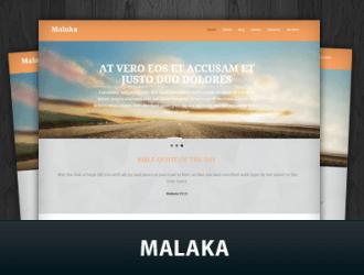Malaka WordPress Themes