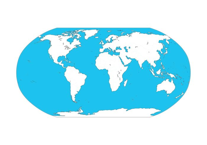 Map Of The World Graphics