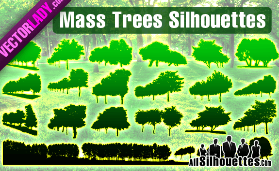 Mass Vector Trees – All-Silhouettes