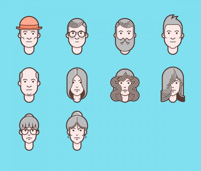 Material Design Avatars Free   IconStore
