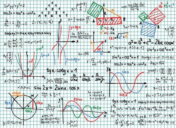 Maths Draft graph 02 vector