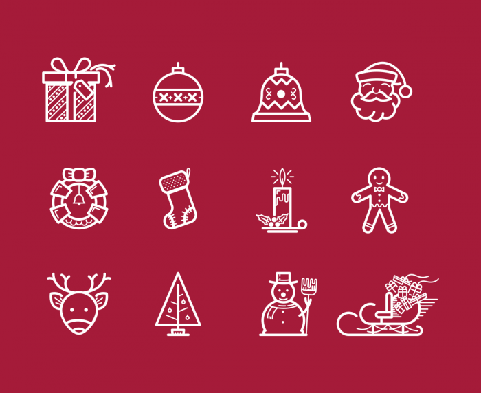 Merry Christmas Icons | IconStore