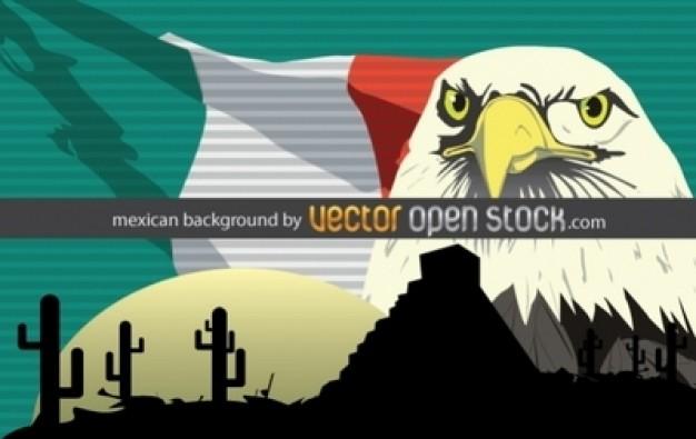 Mexico desert background