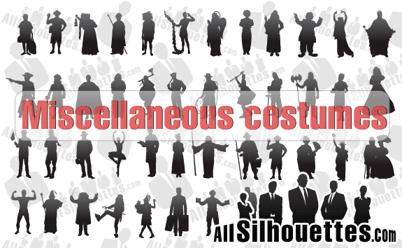 Miscellaneous Costumes – All-Silhouettes
