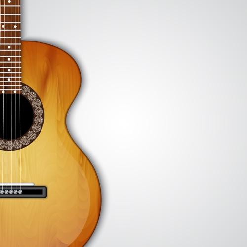 Modern musical Instruments backgrounds vector 01