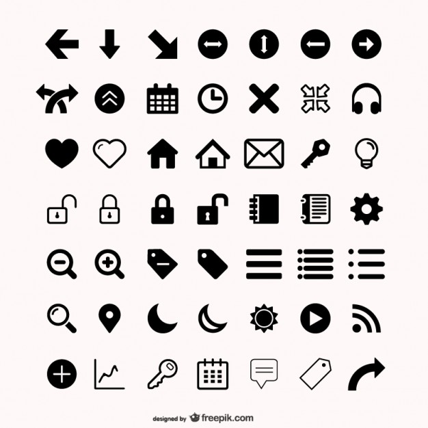 more than  utility icon vector material  Vector | Free Download