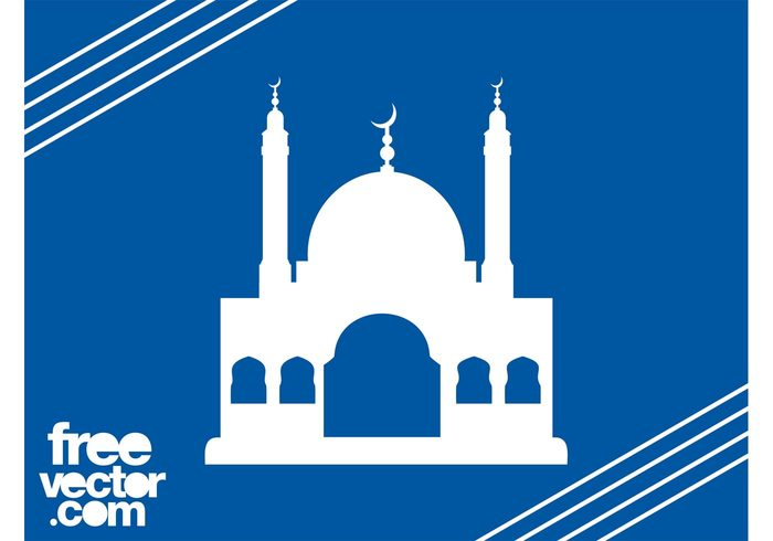 Mosque Silhouette Graphics