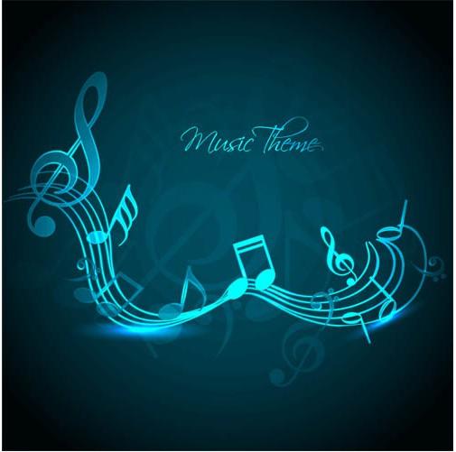 Music Backgrounds art vector