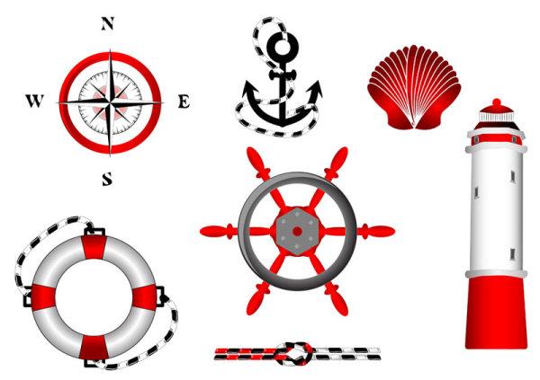 Navigation design elements vector Labels 03