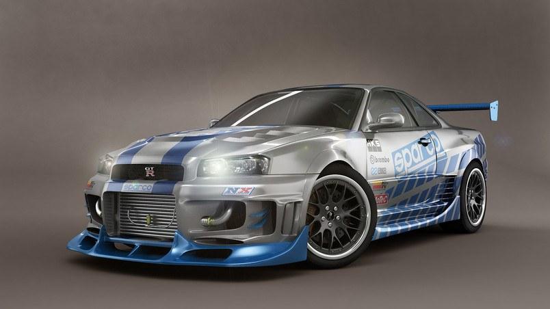Nissan Skyline GTR HD Wallpaper