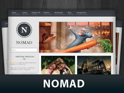 Nomad WordPress Themes