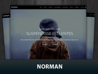 Norman WordPress Themes
