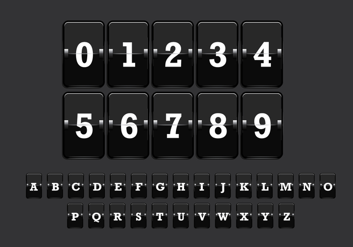 Number Counter Vector 2 – Download Free Vector Art, Stock Graphics & Images