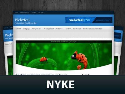 Nyke  WordPress Themes