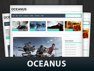 Oceanus WordPress Themes