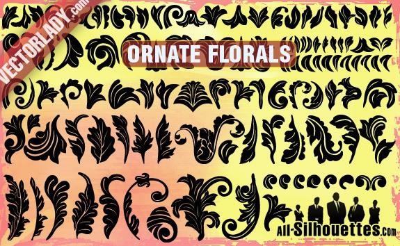 Ornate Vector Florals