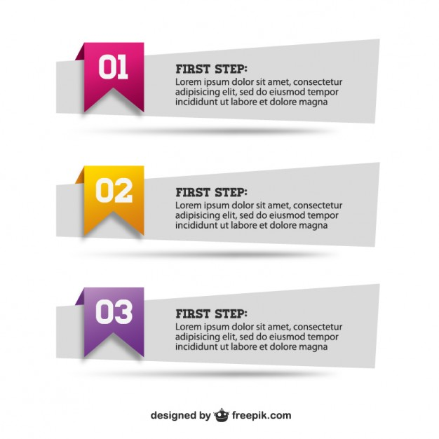 Paper banners set   Vector   Free Download