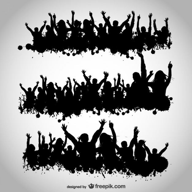 Party people vector design  Vector | Free Download