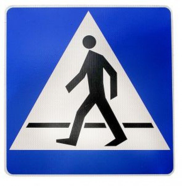 Pedestrian crossing sign  Photo | Free Download