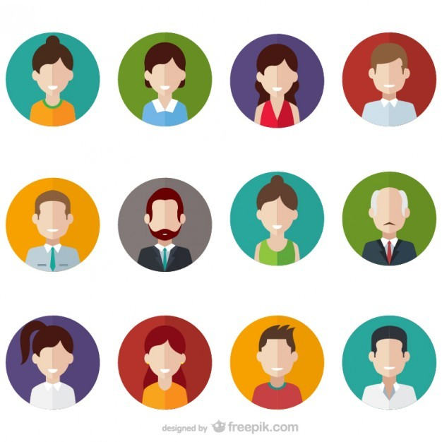 People avatars  Vector | Free Download