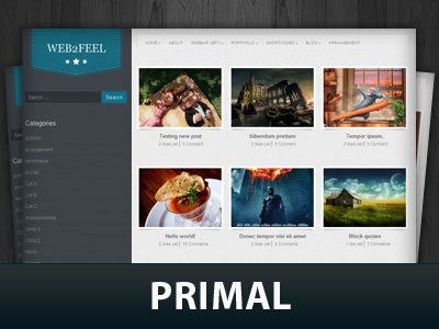 Primal WordPress Themes