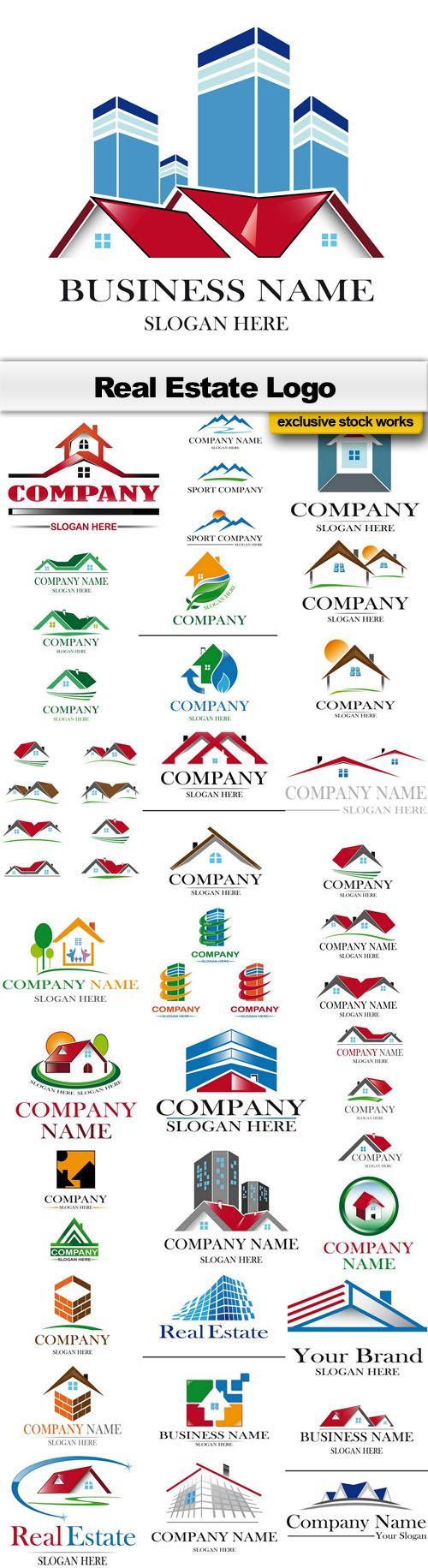 Real Estate – Logo Collection #17 – 25xEPS, AI