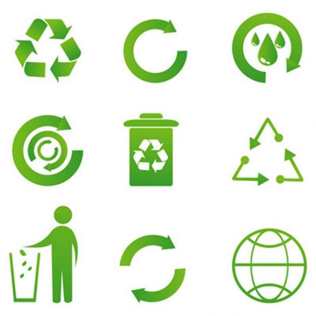 Recycle Icon Vectors  Vector | Free Download