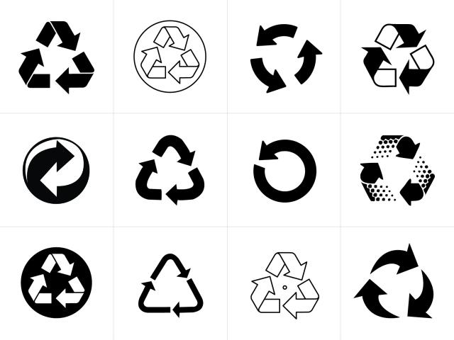 Recycling Symbol Vectors for Download | Signs & Symbols