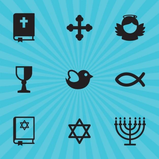 Religion symbols  Vector | Free Download