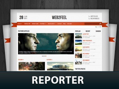 Reporter  WordPress Themes