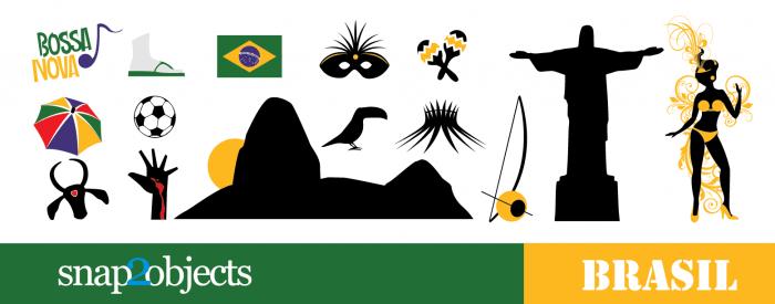 Rio de Janeiro Vector City Icons