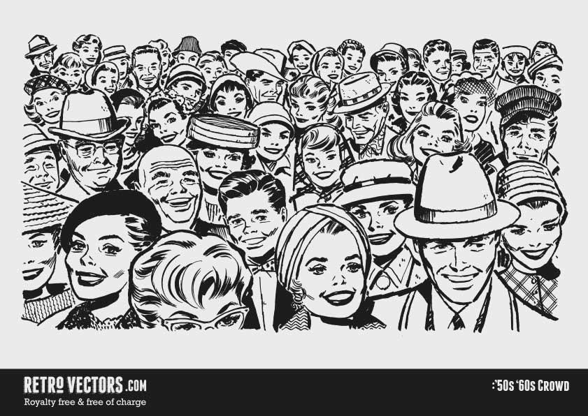 '50s Crowd
