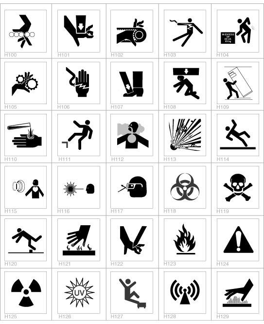 Safety Sign Symbols | Signs & Symbols