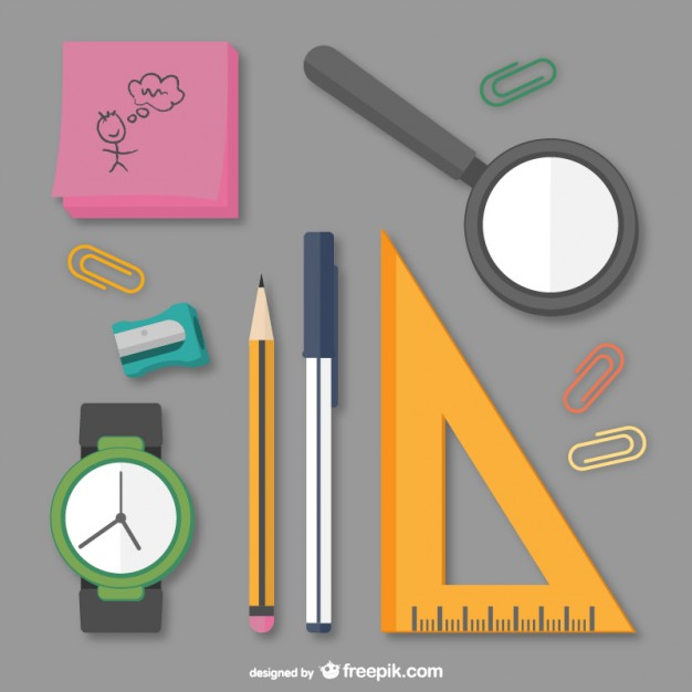 School supplies pack