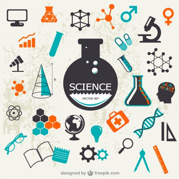 Science vector set  Vector | Free Download