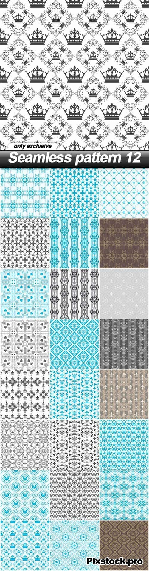 Seamless pattern 12 – 25 EPS