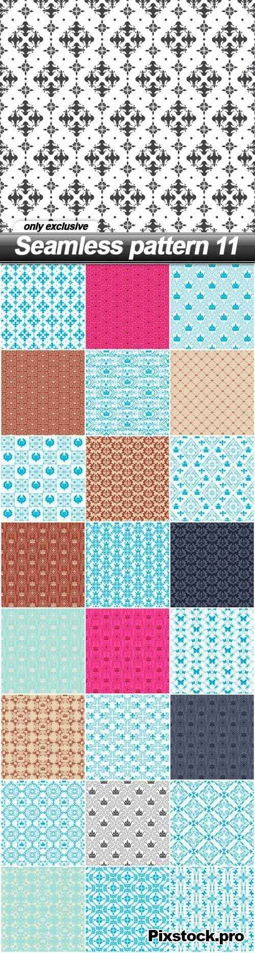 Seamless pattern 11 – 25 EPS