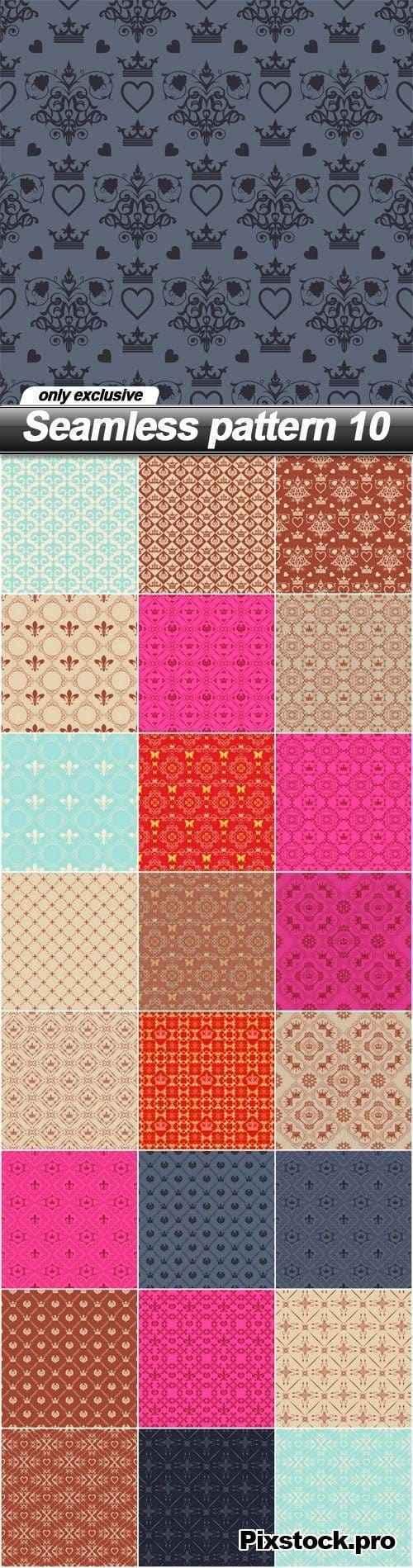 Seamless pattern 10 – 25 EPS