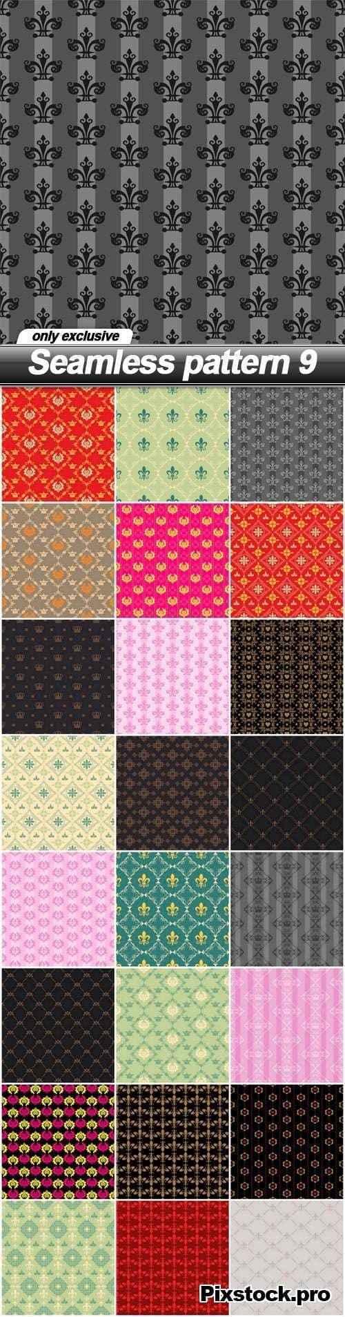 Seamless pattern 9 – 25 EPS