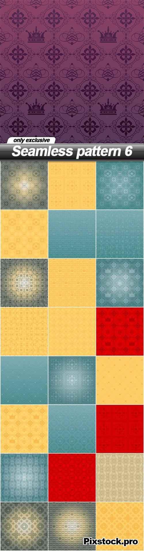 Seamless pattern 6 – 25 EPS