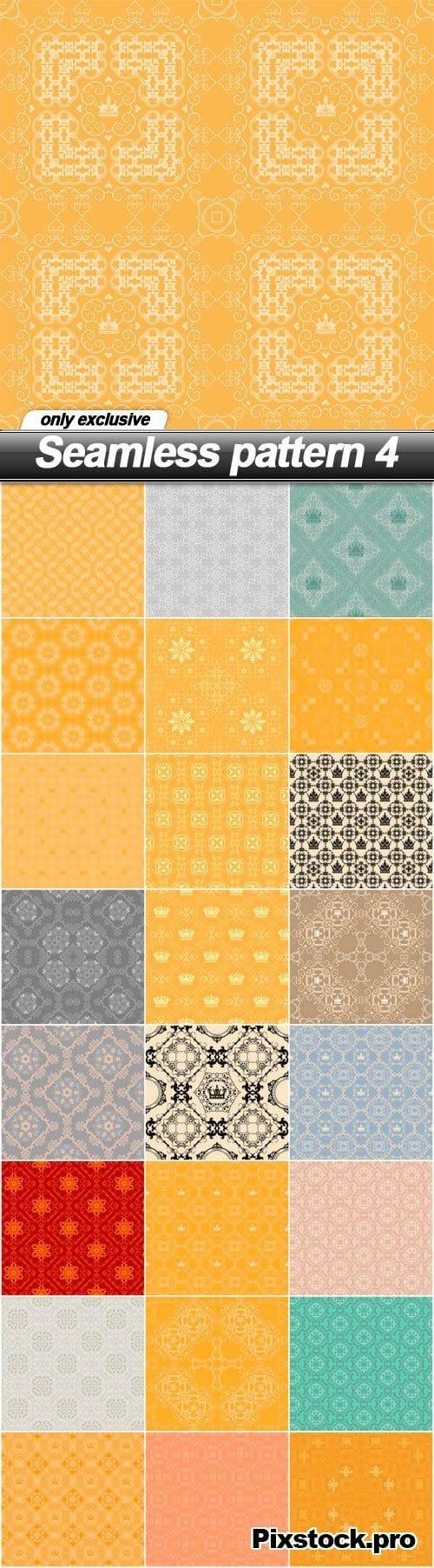 Seamless pattern 4 – 25 EPS