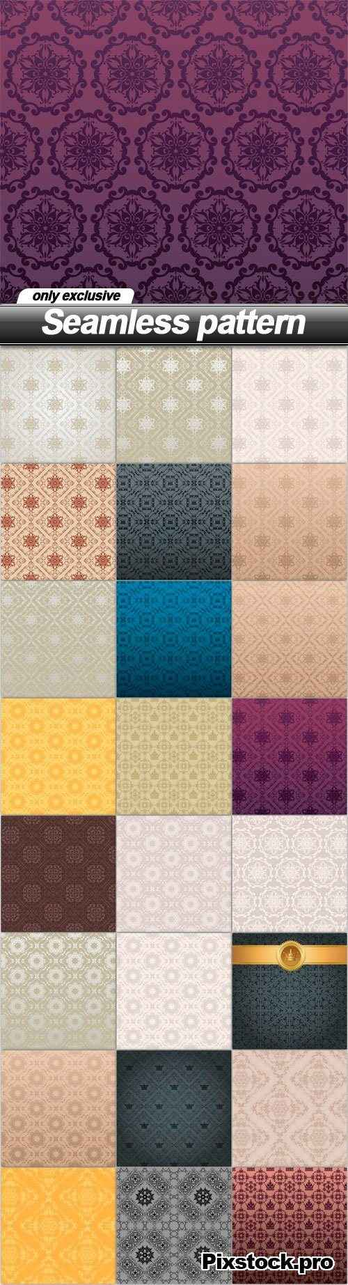 Seamless pattern – 25 EPS